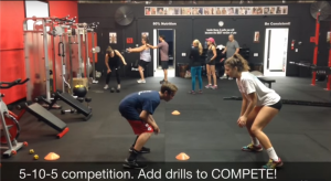 5-10-5 shuttle run competition