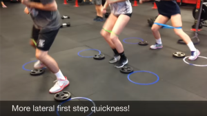 Lateral first step quickness drills for volleyball players